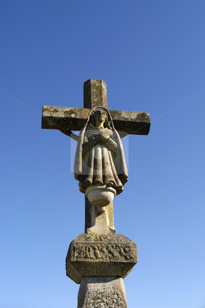 Cross stock photo, Cross statue by Rui Vale de Sousa