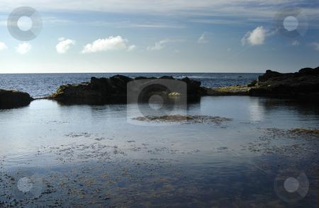 Blue stock photo, Coastal view of azores by Rui Vale de Sousa