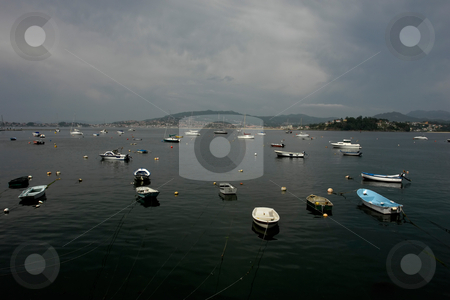 Port stock photo, Boats at port of Vigo in spain by Rui Vale de Sousa