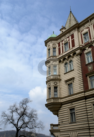 Architecture stock photo, Ancient buildings in the old town of prague by Rui Vale de Sousa