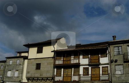 Houses stock photo, Houses details by Rui Vale de Sousa