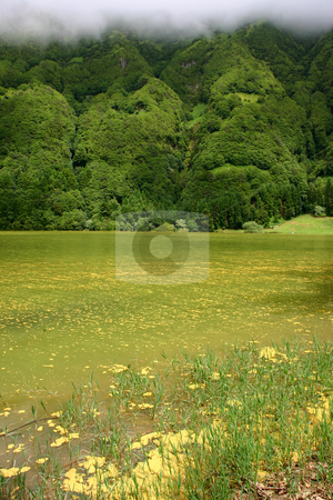 Lakes stock photo, Azores lakes by Rui Vale de Sousa