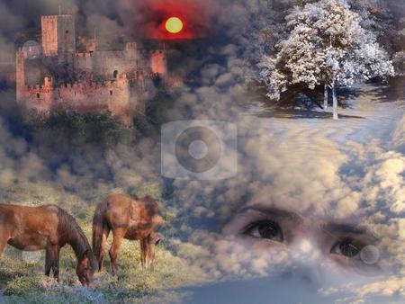 Dreams stock photo, Digital art by Rui Vale de Sousa