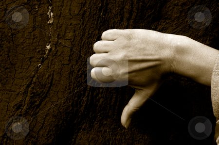 Thumbs down stock photo, Woman hand by Rui Vale de Sousa