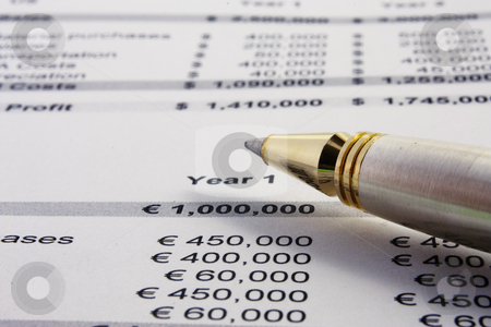 Business Plan stock photo, The profit and loss of a business plan by Gabriele Mesaglio