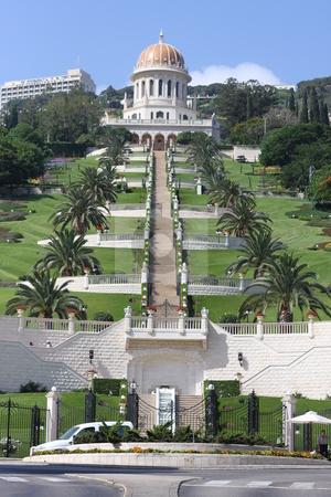 The Shrine of the Bab in Haifa stock photo,  by Chris Budd