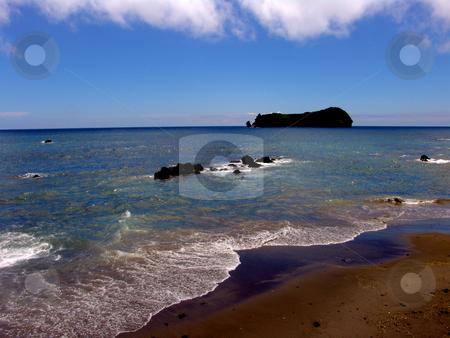 Ocean stock photo, Ocean and island by Rui Vale de Sousa