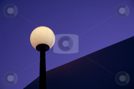 Street lamp stock photo, Street light at night by Rui Vale de Sousa