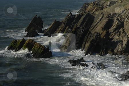 Coastal stock photo, Portuguese coast cliffs by Rui Vale de Sousa