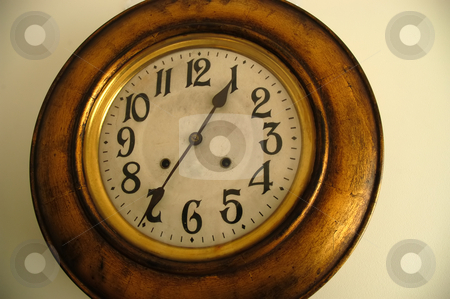 Clock stock photo, Old wall clock by Rui Vale de Sousa