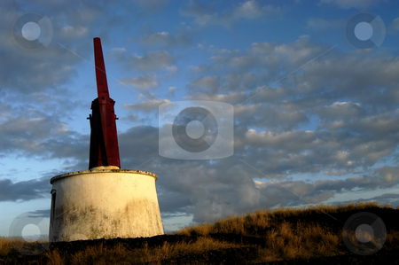 Windmill  stock photo, Azores windmill typical of s. jorge island by Rui Vale de Sousa