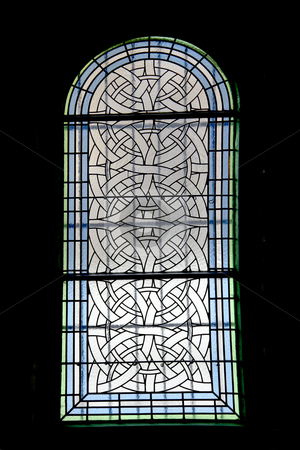 Glass stock photo, Old glass from a church in prague by Rui Vale de Sousa