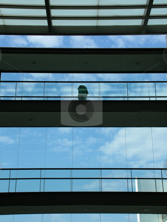 Woman stock photo, Woman at the building by Rui Vale de Sousa