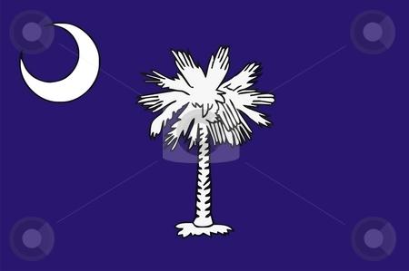 South Carolina Flag stock photo, Very large 2d illustration of South Carolina Flag by Tudor Antonel adrian
