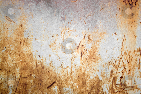 Rusty Metal Texture stock photo, A rusted metal texture.  A very grungy and worn looking material. by Todd Arena
