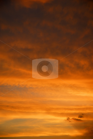 Sky stock photo, Sky at the sunset by Rui Vale de Sousa