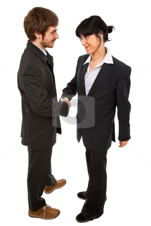 Handshake stock photo, Business partners are shaking hands on a deal by Rui Vale de Sousa