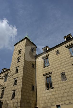 Building stock photo, Prague ancient buildings by Rui Vale de Sousa