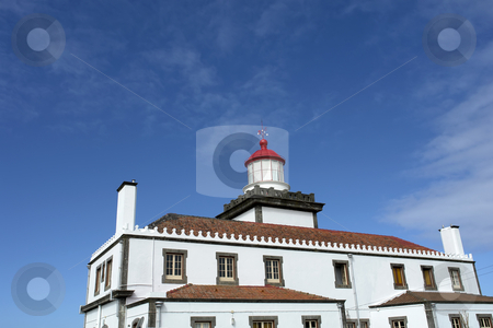 Lighthouse stock photo, Ancient portuguese lighthouse in s. miguel island, azores by Rui Vale de Sousa