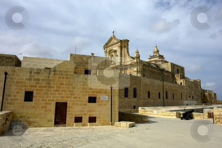 Church stock photo, Ancient church in the island of Gozo, Malta by Rui Vale de Sousa