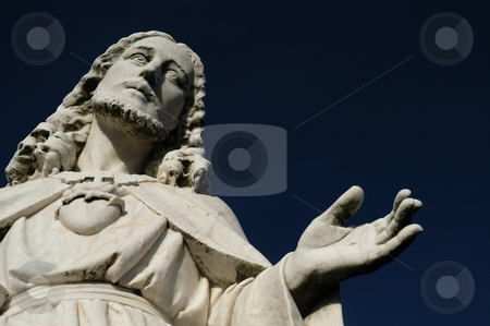 Christ stock photo, Christ statue by Rui Vale de Sousa