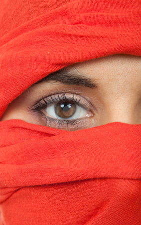 Woman eye stock photo, Young woman eye close up, studio picture by Rui Vale de Sousa