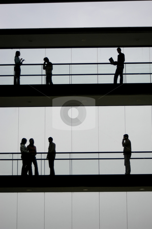 Workers stock photo, Workers silhouette by Rui Vale de Sousa