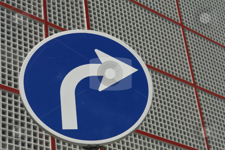 Arrow stock photo, Street sign detail by Rui Vale de Sousa