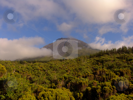 Mountains stock photo, Azores landscape by Rui Vale de Sousa