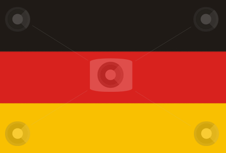 Flag stock photo, Germany flag illustration by Rui Vale de Sousa
