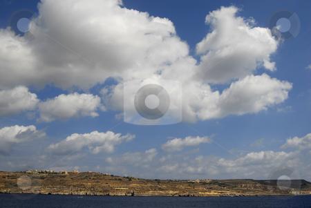 Malta stock photo, View from a boat of Gozo island in Malta by Rui Vale de Sousa