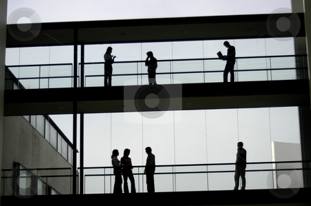 Workers stock photo, Workers inside the building by Rui Vale de Sousa