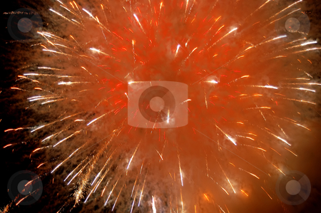 Fireworks stock photo, Fireworks on the sky by Rui Vale de Sousa