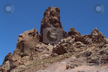 Rocks stock photo, Rocks on the teide, tenerife island mountain by Rui Vale de Sousa