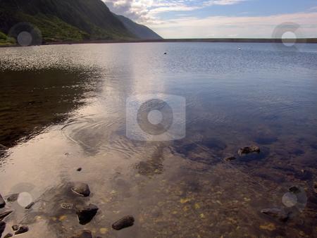 Calm stock photo, Azores coast water by Rui Vale de Sousa