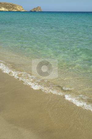 Beach stock photo, Remote beach of kerokampos in the south of crete, lybian sea, greece by Rui Vale de Sousa