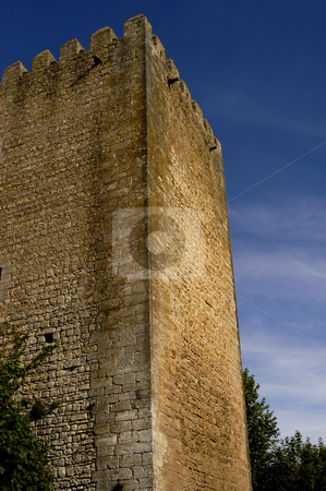 Castle stock photo, Portugal Obidos, medieval ancient castle near Lisbon by Rui Vale de Sousa