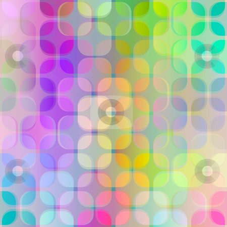 Transparent blur retro pattern stock photo, Seamless texture of transparent grunge vibrant cube shapes by Wino Evertz