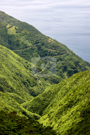 Coastal stock photo, Azores coastal view at s miguel island by Rui Vale de Sousa