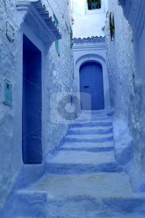 Chef Chouen stock photo, Typical houses of Chef Chouen in Morocco by Rui Vale de Sousa