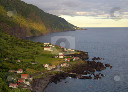 View stock photo, Land and ocean of azores by Rui Vale de Sousa