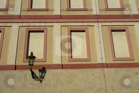 Candle stock photo, Candle in a building in prague by Rui Vale de Sousa