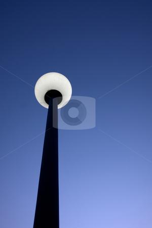 Light stock photo, Street lamp at night by Rui Vale de Sousa