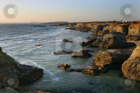 Rocks stock photo, Coast rocks by Rui Vale de Sousa