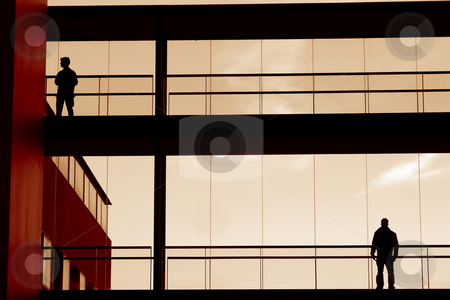 Humans stock photo, People in the building by Rui Vale de Sousa