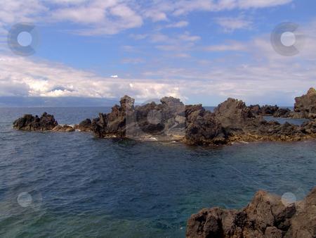 Rocks stock photo, Coast rocks in azores by Rui Vale de Sousa