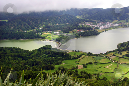 Azores stock photo, Seven lake city in azores island of s miguel by Rui Vale de Sousa