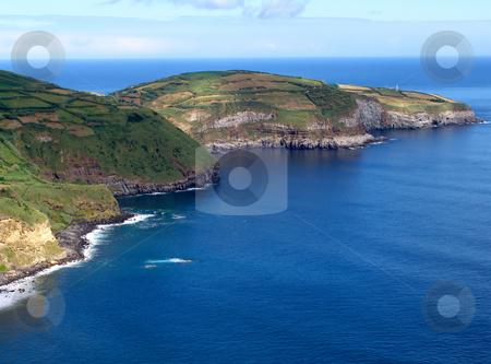 Coast stock photo, Azores coastal view at sao miguel island by Rui Vale de Sousa