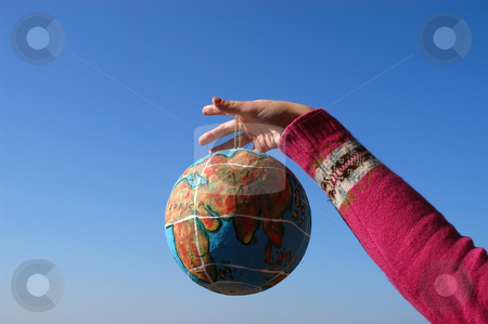 World stock photo, Globe in the hand by Rui Vale de Sousa