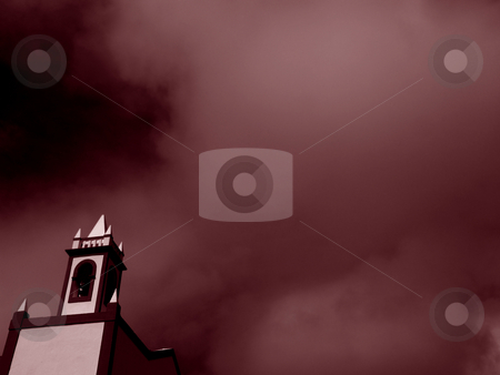 Church detail stock photo, Church and sky by Rui Vale de Sousa
